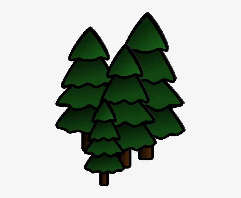 Redwood Forest Clipart.