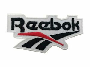 Details about Reebok Classic Logo Brand Embroidered Iron On Sew On patch  A842.