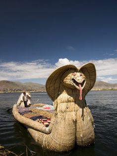 Reed Islands Peru.