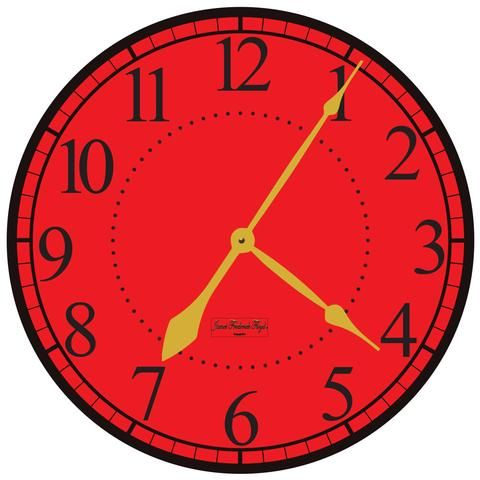 1000+ ideas about Red Wall Clock on Pinterest.
