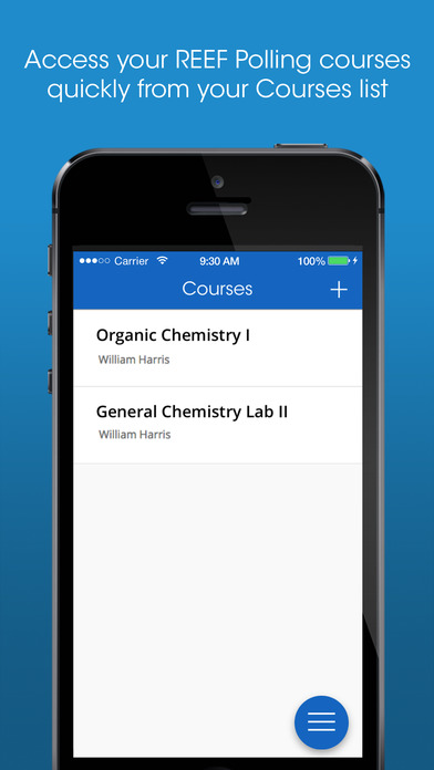 REEF Polling by i>clicker on the App Store.