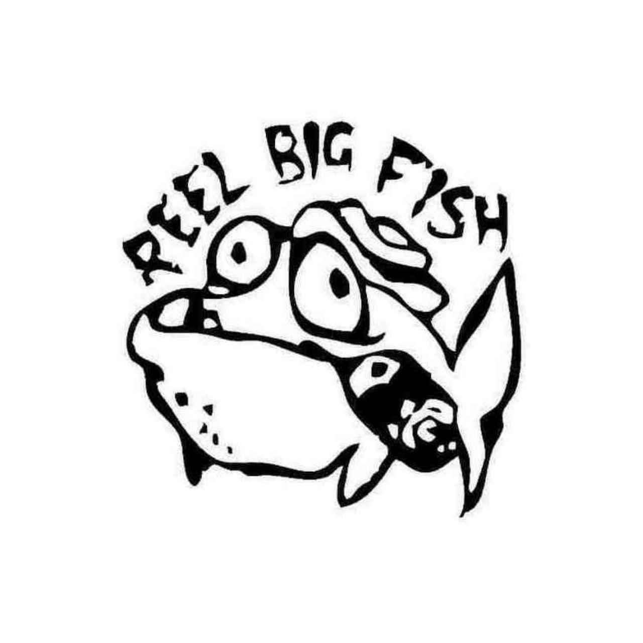 Reel Big Fish Decal Sticker.