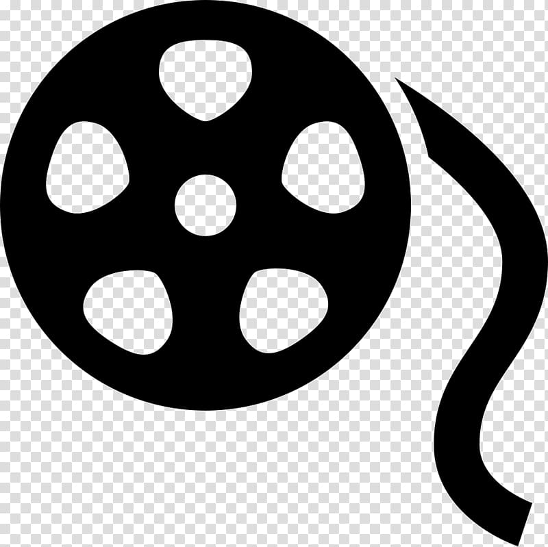 Computer Icons Film Reel, film reel transparent background.