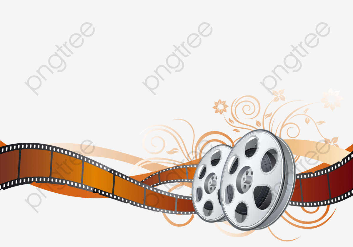 Vector Color Film Reel Movie, Film, The Film, Color Film PNG.