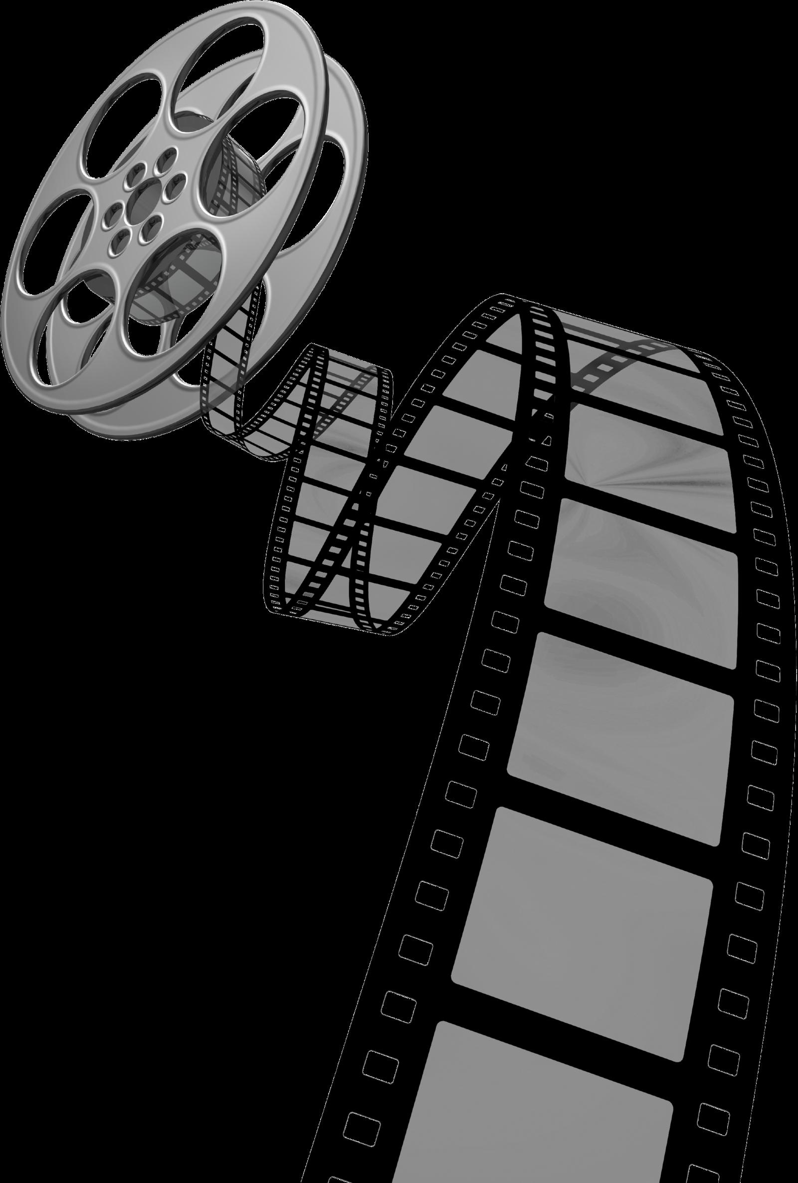 Video Reel Clip Art.