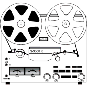 Reel To Reel Clipart.