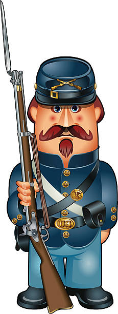 Civil War Reenactment Clip Art, Vector Images & Illustrations.