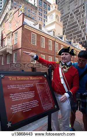 Stock Photo of Historical reenactor.