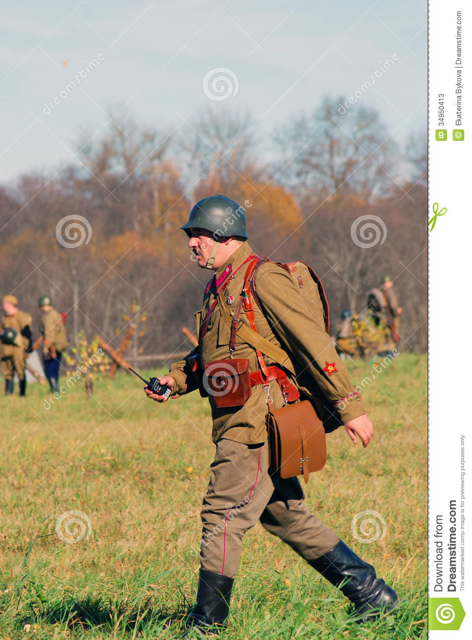 Russian Soldier Clipart.