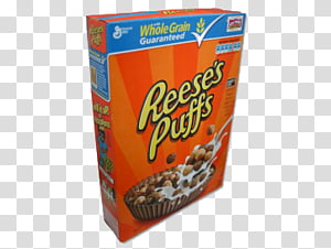 Reeses Puffs transparent background PNG cliparts free.