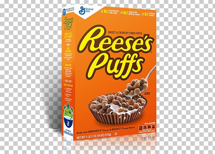 Reese\'s Puffs Reese\'s Peanut Butter Cups Breakfast Cereal.