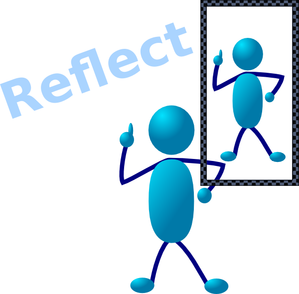 Reflection 20clipart.