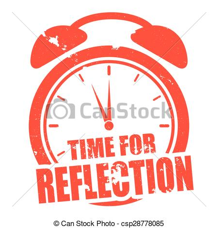Vector of Time for Reflection.