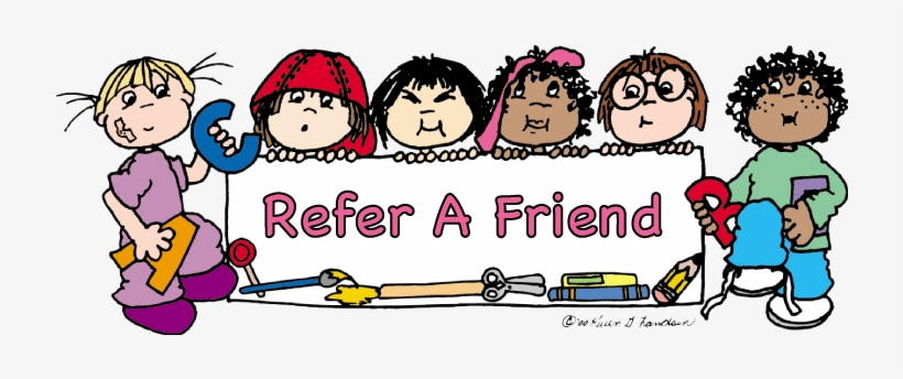Refer A Friend Clipart.