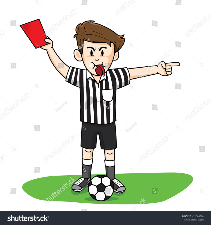 Download animated soccer referee clipart Association.