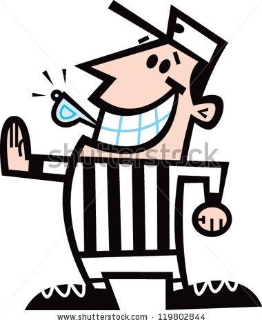 Hockey Referee Clip Art.