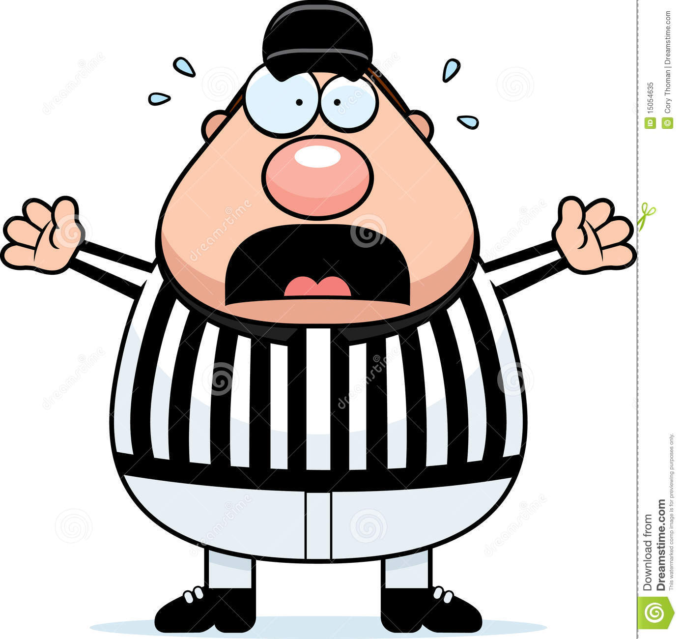 Referee Stock Illustrations.