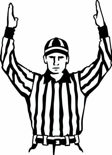 Nfl referee clipart 3 » Clipart Station.
