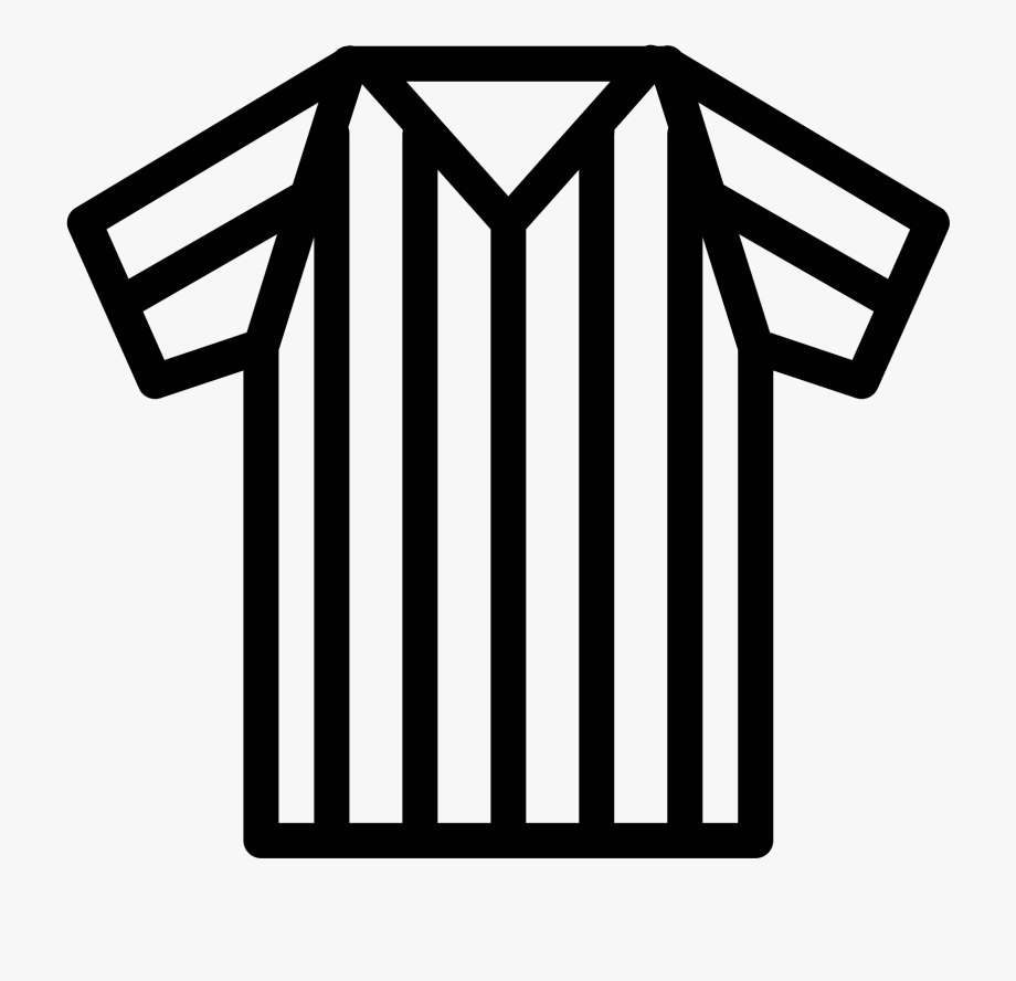 Shirts Clipart Referee.