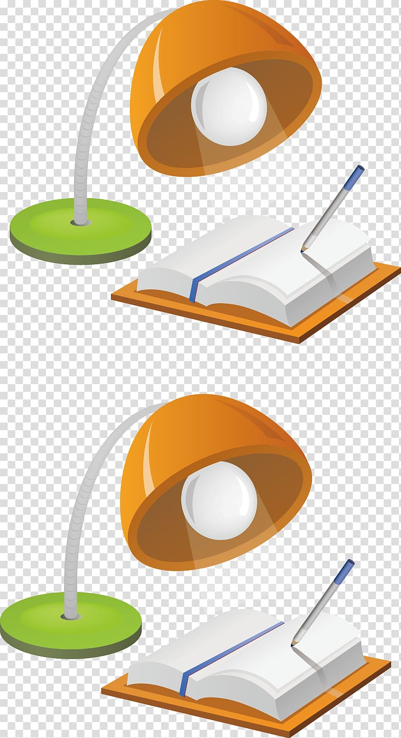 Software Blog Reference Icon, Lamp elements transparent.