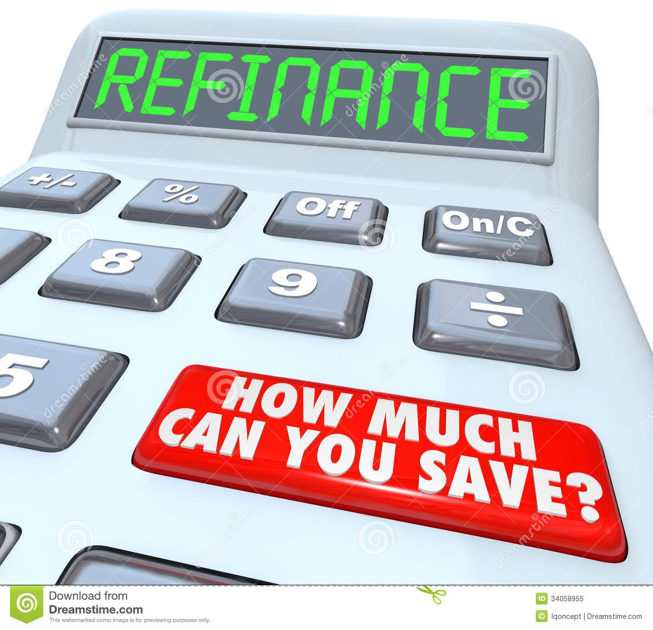 Refinance Clipart.