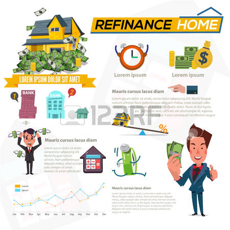 260 Refinance Stock Vector Illustration And Royalty Free Refinance.