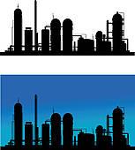 Refinery Clip Art.
