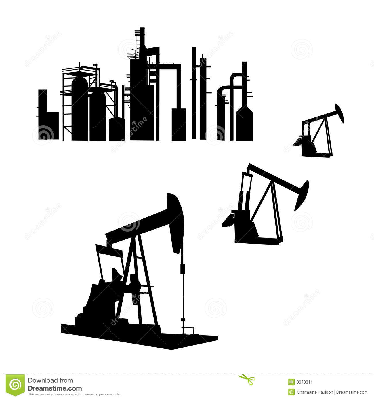 Refinery Stock Illustrations.