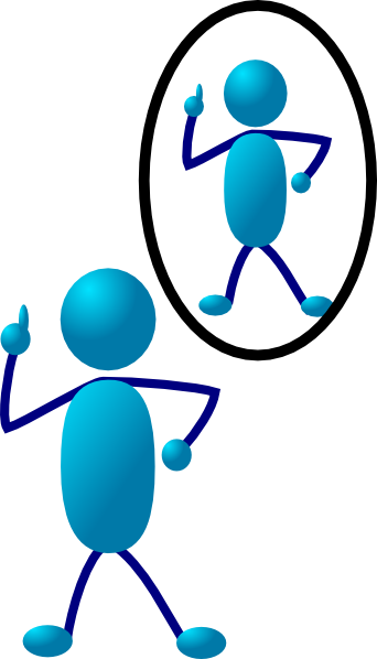 My Reflection Clipart.