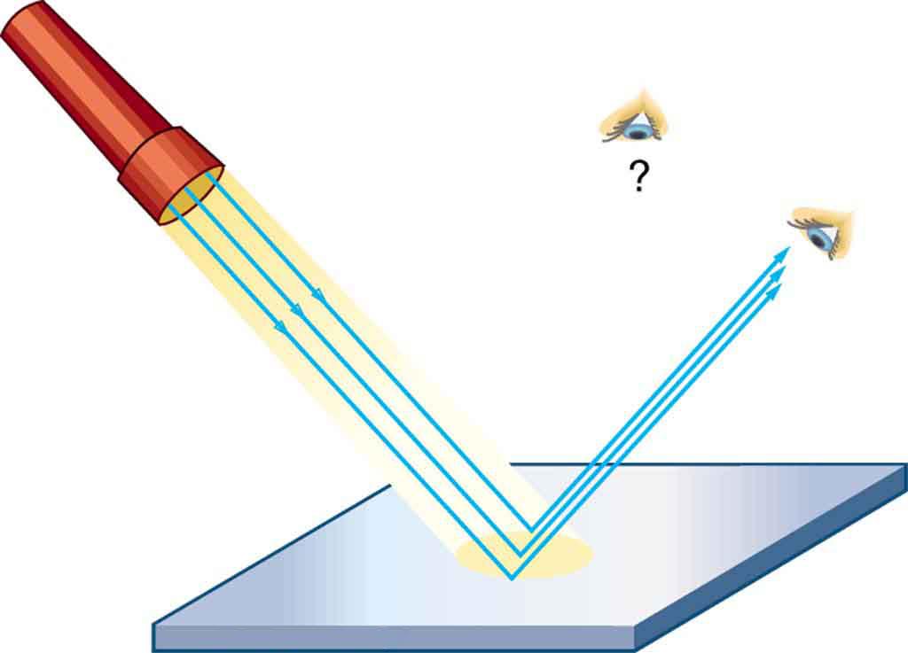 Reflection of Light (Learn) : Physics : Class 7 : Amrita.