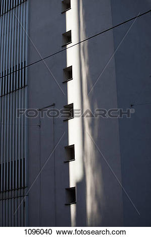 Stock Photography of Reflection of light projected onto wall.