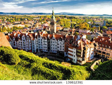 Poland City Stock Photos, Royalty.