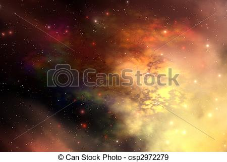 Stock Illustration of REFLECTION NEBULA.
