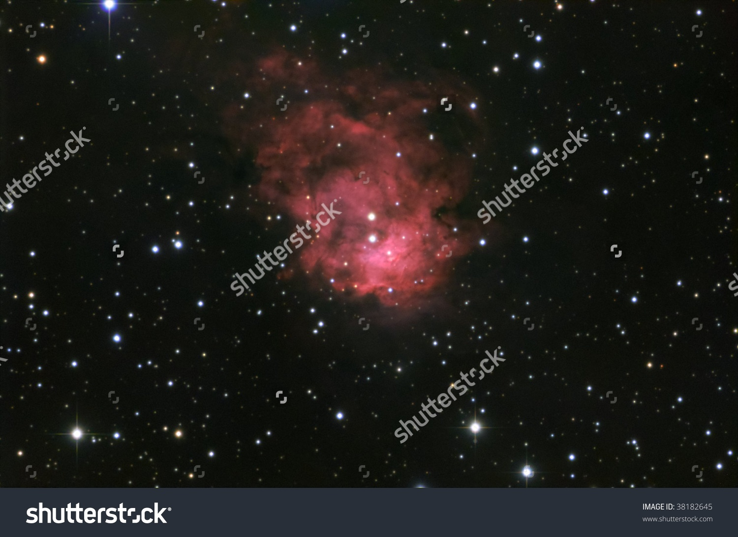 Reflection Nebula Cepheus Stock Photo 38182645.
