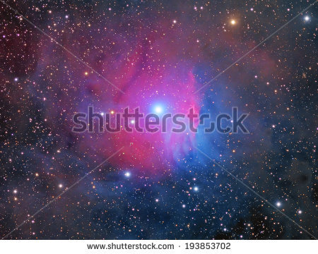 Reflection Nebula Stock Photos, Royalty.