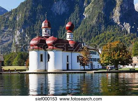 Stock Photo of Germany, Bavaria, Upper Bavaria, Berchtesgaden.