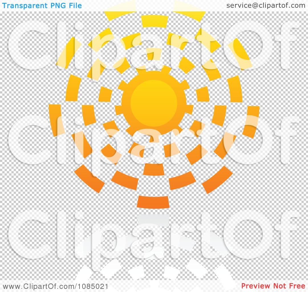 Clipart Hot Summer Sun And Reflection 9.