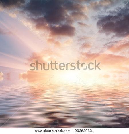 Sunset Stock Photo 54594619.