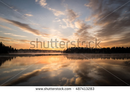 Sunset Stock Images, Royalty.