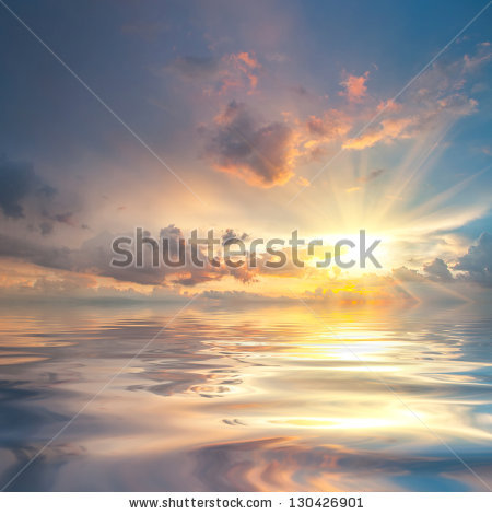 Sunrise Sunset Stock Images, Royalty.