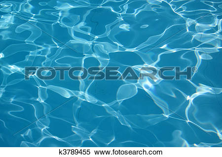 Stock Image of Water reflections in the swimming pool k3789455.