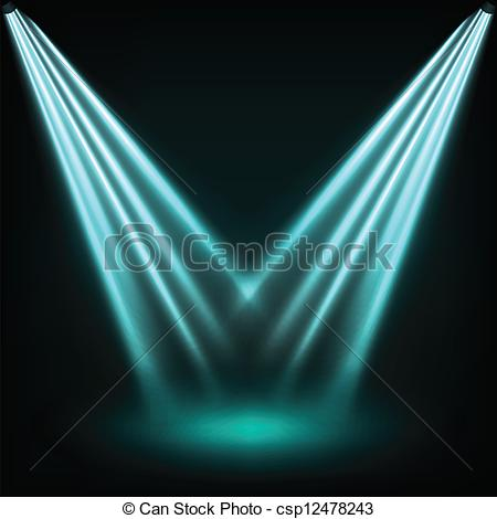 EPS Vector of Reflector lights.