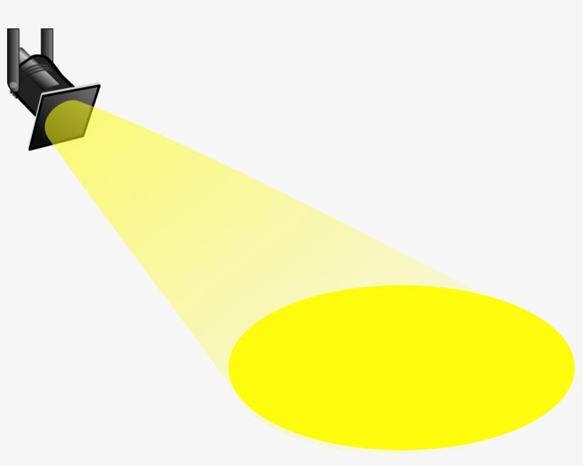 Spotlight Stage Lighting Clip Art.