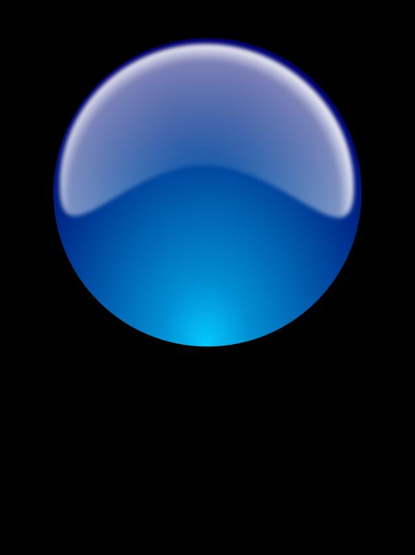 Free Clipart: Glossy sphere w/reflex. Esfera brillante con.