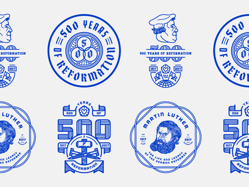 Reformation 500 (Explorations) by Peter Voth on Dribbble.