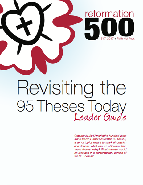 Reformation 500 Resources.