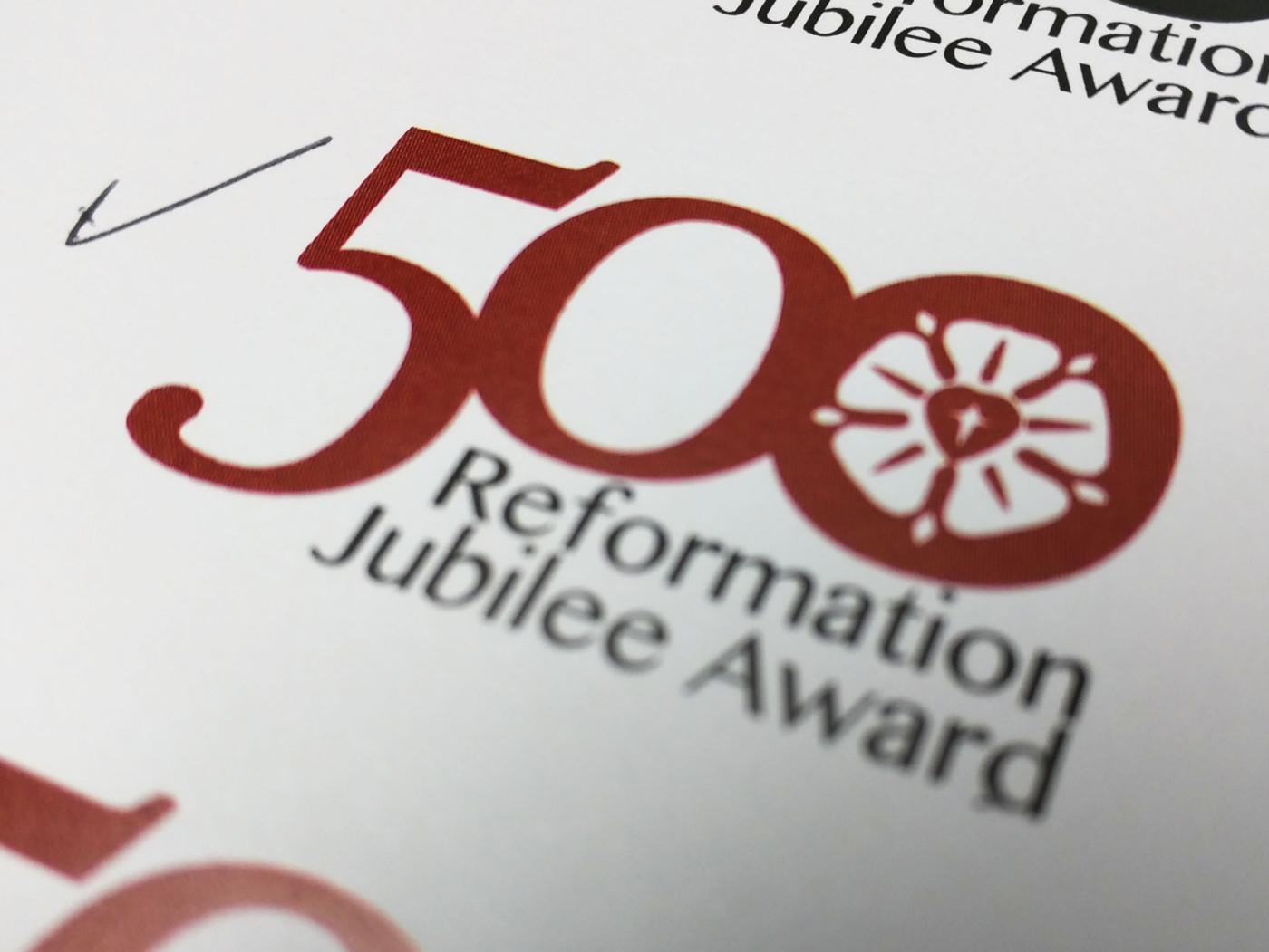 Reformation 500 logo.