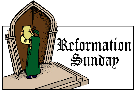 Reformation Sunday 2016 Clipart.