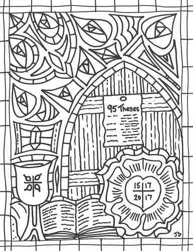 Reformation 500 clip art.