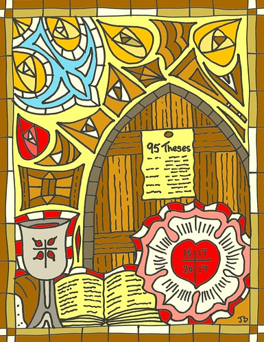 reformation Sunday art.
